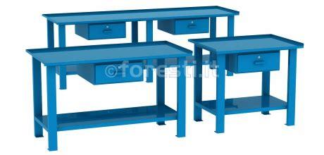 tavoli da lavoro tavoli da lavoro in metallo con cassetti