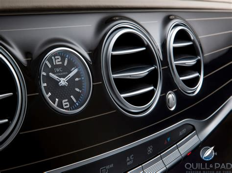 mercedes dashboard clock mercedes maybach s class surprisingly its iwc dashboard