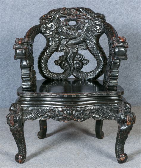 dragon armchair chinese dragon armchair 301564 sellingantiques co uk
