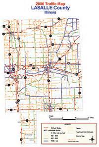 la salle county map lasalle county highway