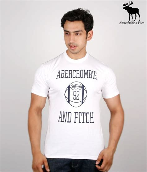 Tshirt Abercrombie Fitch White abercrombie fitch white t shirt buy