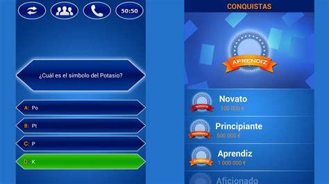 preguntas trivia en espanol quiz millonario espa 241 ol gratis para android descargar