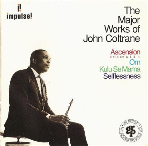 coltrane the major works of coltrane cd at