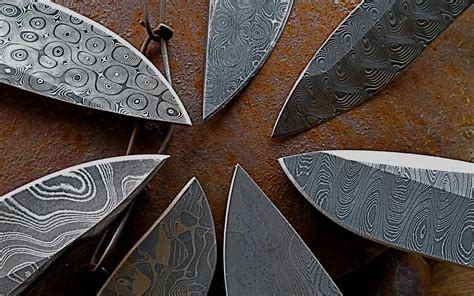 damascus steel pattern types csgo an introduction to damascus steel edc knives everyday carry