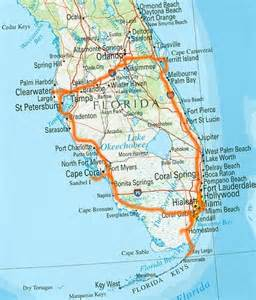 map of south florida and south florida 2010