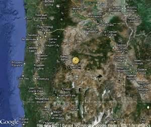 oregon satellite map oregon popular tourist places satellite map united