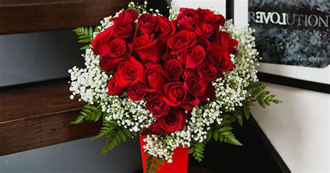 late  order valentines day flowers