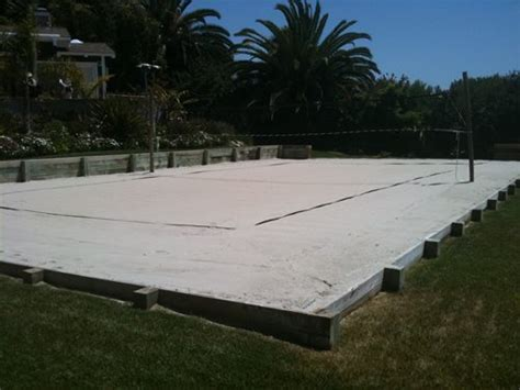 how to build a sand volleyball court in backyard volleyball backyard games landscaping network