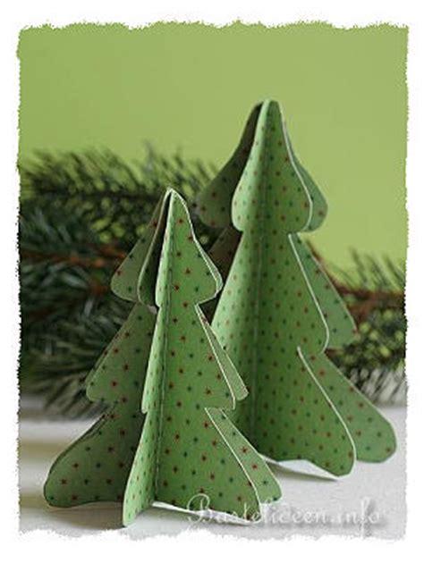Bastelvorlage Weihnachtsbaum Papier by Basteln Mit Papier Weihnachten Weihnachtsbaum In 3 D