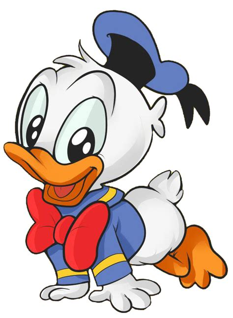 dibujo del el pato donal disney baby donald clip art clipartbay com