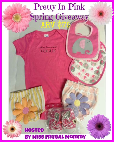 Pink Giveaway - pretty in pink spring giveaway ends 04 20 tales from a southern mom