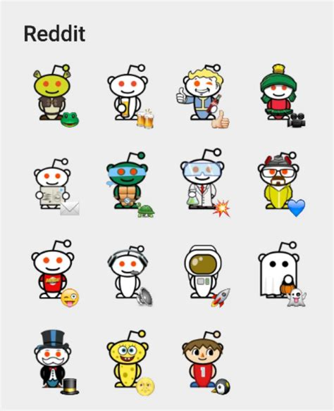 Reddit Stickers reddit sticker fot telegram stickers telegram