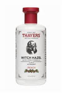 thayers peach witch hazel astringent thayers natural remedies