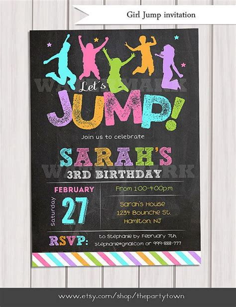 printable sky zone birthday invitations 17 best images about n skyzone birthday party on pinterest