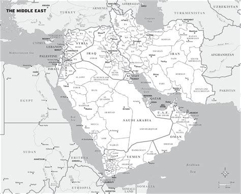 middle east map numbered chris henrick cartography