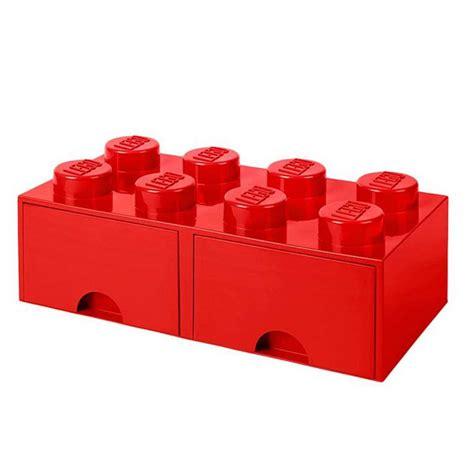 lego 174 brique de rangement empilable avec tiroir 8 plots