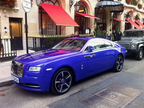 purple rolls royce purple rolls royce wraith stuns in paris gtspirit