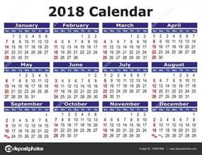 Calendar Printable 2018 Philippines 简单的矢量日历 2018 图库矢量图像 169 Alfonsodetomas 140901896