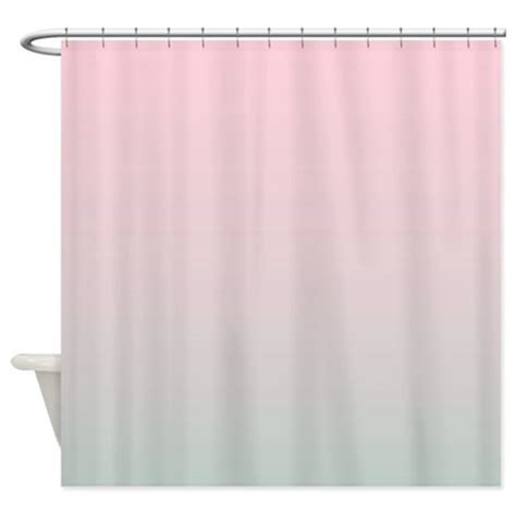 Grey Ombre Curtains Grey Pink Ombre Shower Curtain By Admin Cp62325139