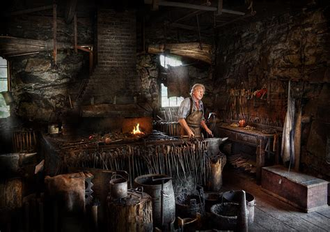 Blacksmith Home Decor by Blacksmith This Is My Trade Photograph By Mike Savad