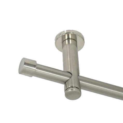 gardinenstange edelstahl geburstet gardinenstange matt geb 252 rstet 16 mm endkappe edelstahl