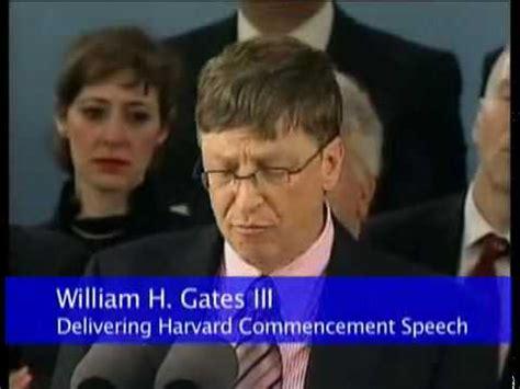 Mba Bill Gates Speech by Bill Gates Speech Harvard Commencement 2007 2 Of 3