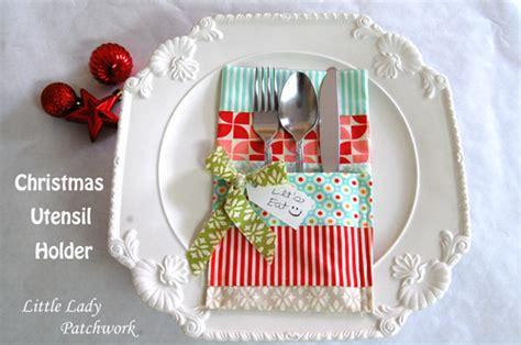 pattern for dinner roll holder little lady patchwork christmas utensil holder a