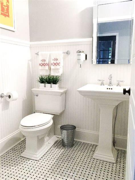 powder room pedestal sink vintage powder room carrara marble pedestal sink