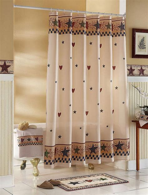 Country Themed Shower Curtains Best 20 Primitive Shower Curtains Ideas On Pinterest
