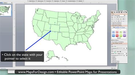 us map highlight states how to highlight a state in a editable powerpoint usa map