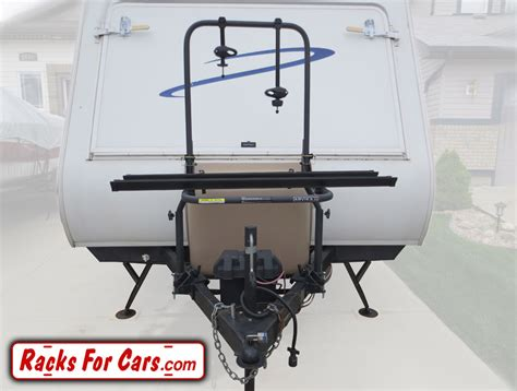 Bike Rack For Back Of Travel Trailer by Arvika Rv Bike Racks Carry Your Bicycles On Rvs And Fifth