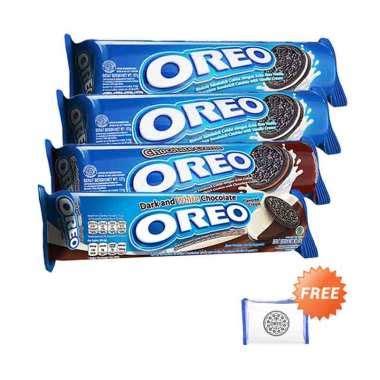 Oreo Strawberry 137 Gr jual aneka wafer brand terbaik terlengkap blibli