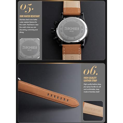 Jam Tangan Wanita Fashionable Cb White Whatches skmei jam tangan analog pria 9147cl black white jakartanotebook
