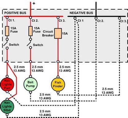 houseboat electrical wiring diagram houseboat plumbing