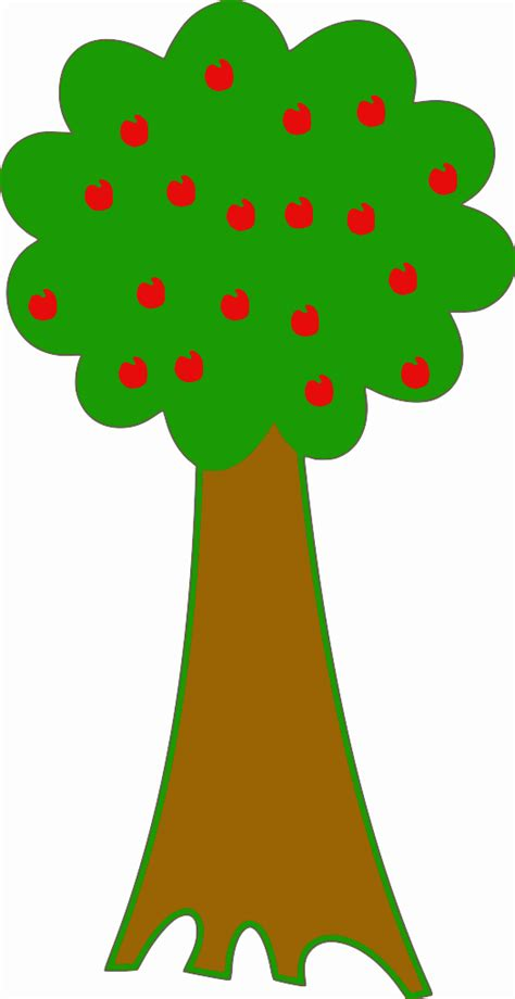 fruit tree clipart fruit tree drawing clipart best