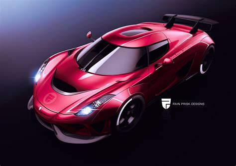 koenigsegg rain koenigsegg regera rs render shows baffling prospects of