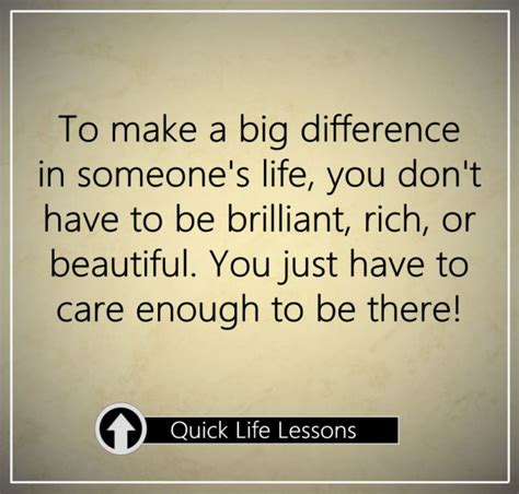 7 Ways To Make A Difference In Someones by To Make A Big Difference In Someone S