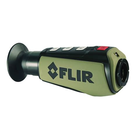 thermal flir flir scout ii series thermal monocular vision devices