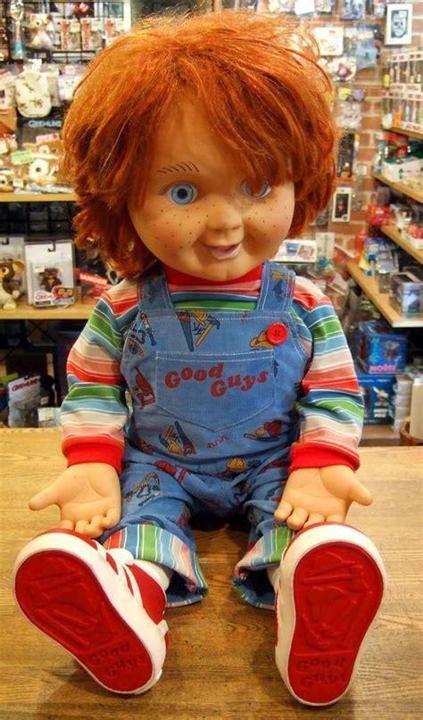 movie quality chucky doll child s play 2 good guy chucky lifesize 1 1 doll no box