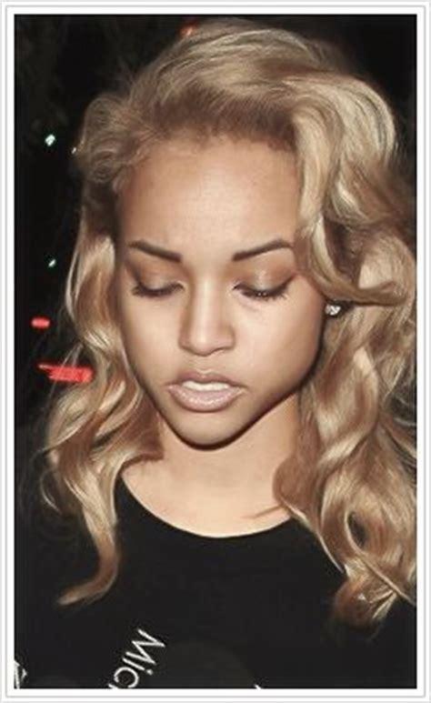 karrueche hair color karrueche tran blond hair blonde ambition pinterest