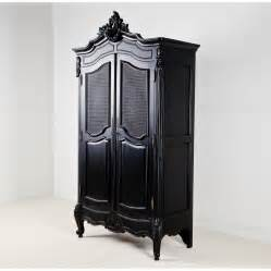 black armoire armoires wardrobes armoires 187 la rochelle black antique french wardrobe