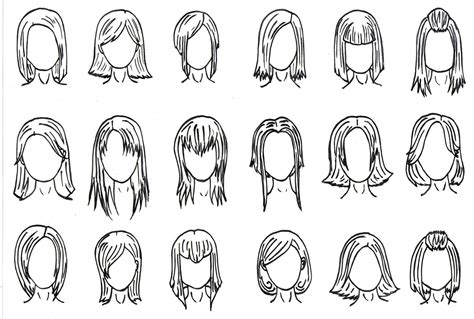 anime hairstyles hd cute anime hairstyles for medium hair cool inspirations