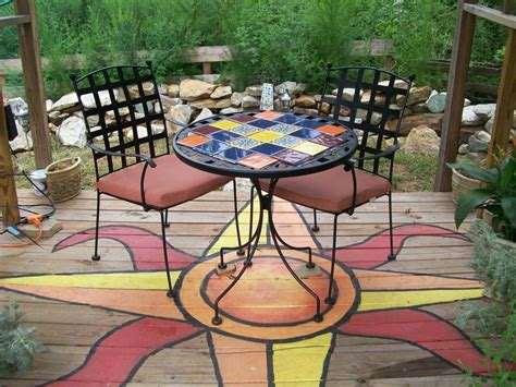 Outdoor Floor Painting Ideas with Unique Outdoor Flooring Ideas Hgtv
