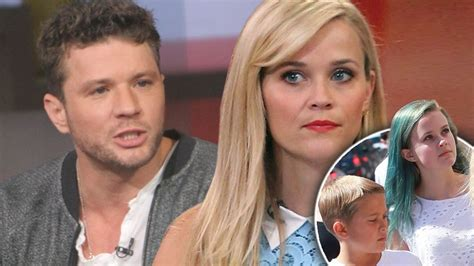 Reese Witherspoon Fighting With Ex Husband Ryan Phillippe