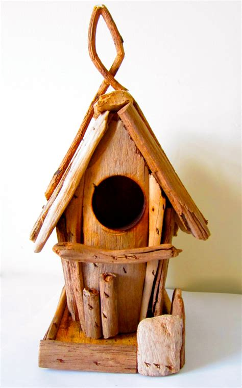driftwood birdhouse driftwood home decor wooden