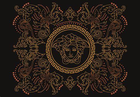 versace background stencil versace vector free vector stock