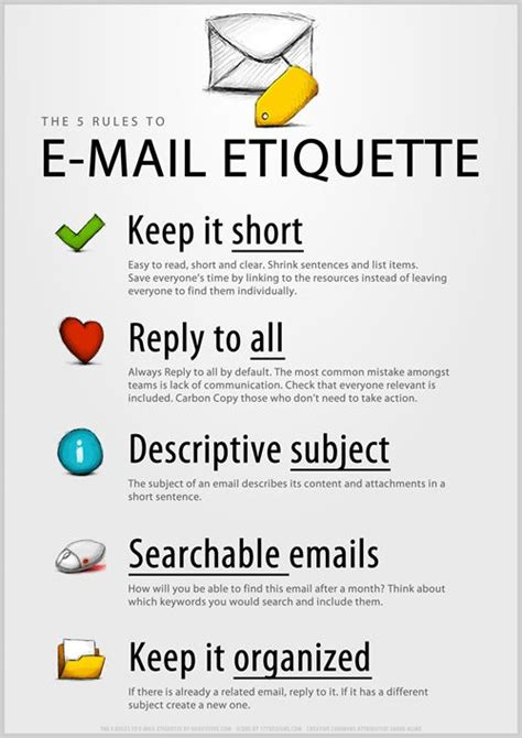 email etiquette layout there are many rules when it comes to using emails to