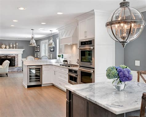 Beautiful White Kitchen Designs by Timeless Grey And White Kitchen Middletown New Jersey By