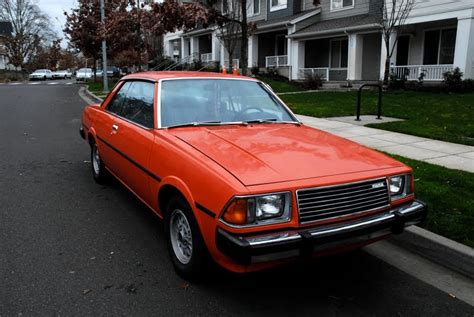 1979 mazda 626 coupe parked cars 1979 mazda 626 coupe
