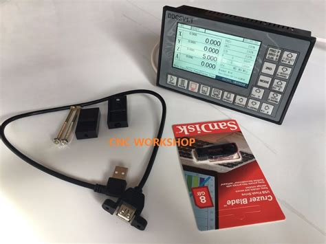 Usb Motor 4 axis offline stand alone replace mach3 usb cnc motor